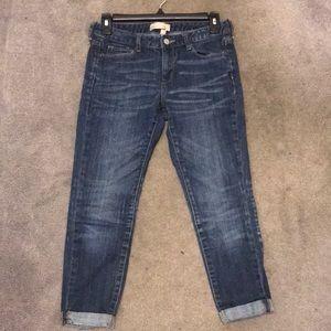 Banana Republic Cropped Skinny Jeans
